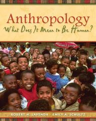 Anthropology: What Does It Mean to Be Human? 1st edition 9780195189766 0195189760