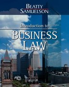 Introduction to Business Law 2nd edition 9780324311426 0324311427