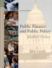 Public Finance and Public Policy 2nd edition 9780716766315 0716766310