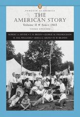 American Story, The, Volume II, (Penguin Academics Series) 3rd edition 9780321421852 032142185X