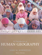 The Cultural Landscape 9th edition 9780131346819 0131346814