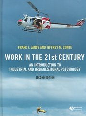 Work in the 21st Century 2nd Edition 9781405144346 1405144343