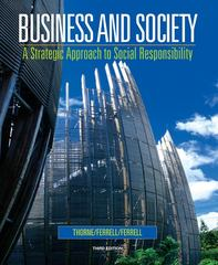 Business and Society 3rd edition 9780618823369 0618823360