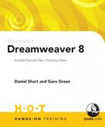 Macromedia Dreamweaver 8 Hands-On Training 1st edition 9780321293893 0321293894