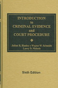 Introduction to Criminal Evidence and Court Procedure 3rd edition 9780821107324 0821107321