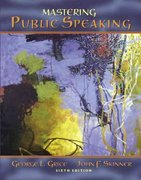 Mastering Public Speaking 6th edition 9780205467358 0205467350