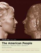 The American People 7th edition 9780205543434 020554343X