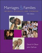 Marriages and Families 5th edition 9780073209517 0073209511