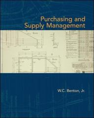 Purchasing and Supply Management 1st edition 9780073525143 0073525146