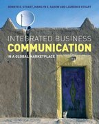 Integrated Business Communication 1st edition 9780470027677 0470027673