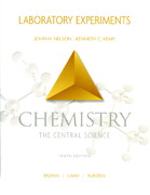 Chemistry the Central Science, Laboratory Experiments 10th edition 9780131464797 0131464795