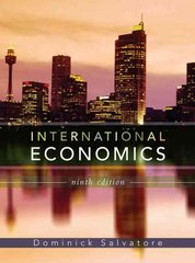 International Economics 9th Edition 9780471794684 0471794686