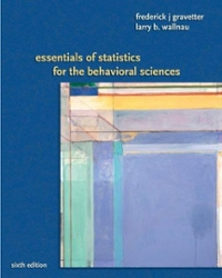 Essentials of Statistics for the Behavioral Science 6th edition 9780495383949 0495383945