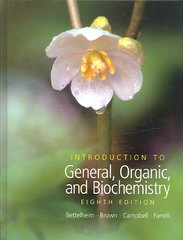 Introduction to General, Organic and Biochemistry (with CD-ROM and CengageNOW Printed Access Card) 8th edition 9780495011972 0495011975