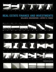 Real Estate Finance & Investments 13th Edition 9780073524719 0073524719