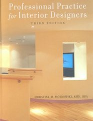 Professional Practice for Interior Designers 3rd edition 9780471384014 0471384011
