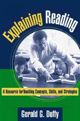 Explaining Reading 1st Edition 9781572308770 157230877X