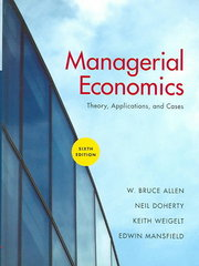 Managerial Economics 6th Edition 9780393924961 0393924963