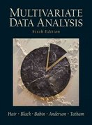 Multivariate Data Analysis 6th edition 9780130329295 0130329290