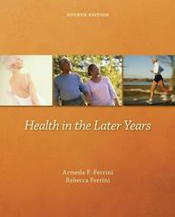 Health in the Later Years 4th Edition 9780697294456 0697294455