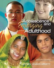 Adolescence and Emerging Adulthood 3rd edition 9780131950719 0131950711