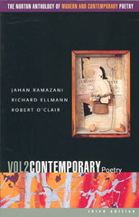 The Norton Anthology of Modern and Contemporary Poetry 3rd edition 9780393977929 0393977927