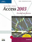New Perspectives on Microsoft Office Access 2003, Introductory, CourseCard Edition 1st edition 9781418839086 1418839086