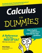 Calculus For Dummies 1st Edition 9780764524981 0764524984
