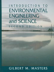 Introduction to Environmental Engineering and Science 2nd edition 9780131553842 0131553844