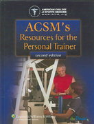 ACSM's Resources for the Personal Trainer 2nd Edition 9780781790536 0781790530