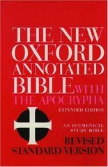 The New Oxford Annotated Bible with the Apocrypha, Revised Standard Version, Expanded Edition (Hardcover 8910A) 4th edition 9780195283488 0195283481