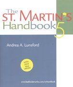 St. Martin's Handbook 5th Edition 9780312413132 0312413130