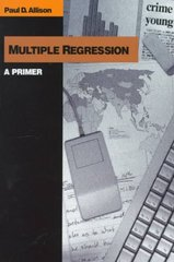 Multiple Regression 1st Edition 9780761985334 0761985336