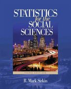 Statistics for the Social Sciences 3rd edition 9781412905466 141290546X