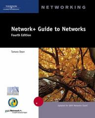 Network+ Guide to Networks 4th edition 9780619217433 061921743X