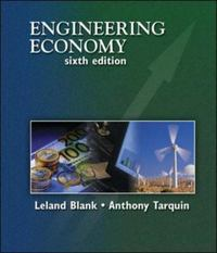 Engineering Economy 6th edition 9780073205342 0073205346