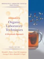 Introduction to Organic Laboratory Techniques 4th edition 9780495016304 0495016306