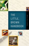 The Little, Brown Handbook 10th Edition 9780321389510 0321389514