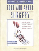 McGlamry's Comprehensive Textbook of Foot and Ankle Surgery 3rd edition 9780683304718 0683304712