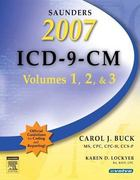Saunders 2007 ICD-9-CM, Volumes 1, 2, and 3 1st edition 9781416040408 1416040404