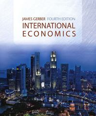 International Economics 4th edition 9780321415554 0321415558