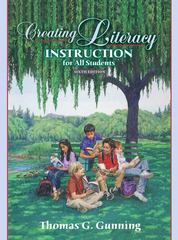 Creating Literacy Instruction for All Students 6th edition 9780205523665 0205523668