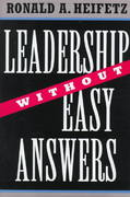 Leadership Without Easy Answers 1st Edition 9780674518582 0674518586