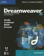 Macromedia Dreamweaver 8: Comprehensive Concepts and Techniques 1st edition 9781418859930 1418859931