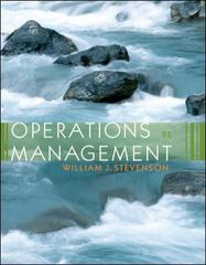 Operations Management 9th edition 9780073041919 0073041912