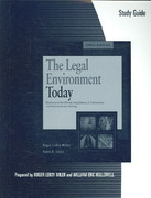 Study Guide for Miller/Cross' The Legal and E-Commerce Environment Today, 5th 5th edition 9780324648706 0324648707
