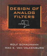 Design of Analog Filters 2nd edition 9780195118773 0195118774