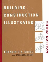 Building Construction Illustrated 3rd Edition 9780471358985 0471358983
