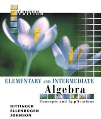 Elementary and Intermediate Algebra 4th edition 9780321233837 0321233832