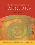 An Introduction to Language 7th edition 9780155084810 015508481X